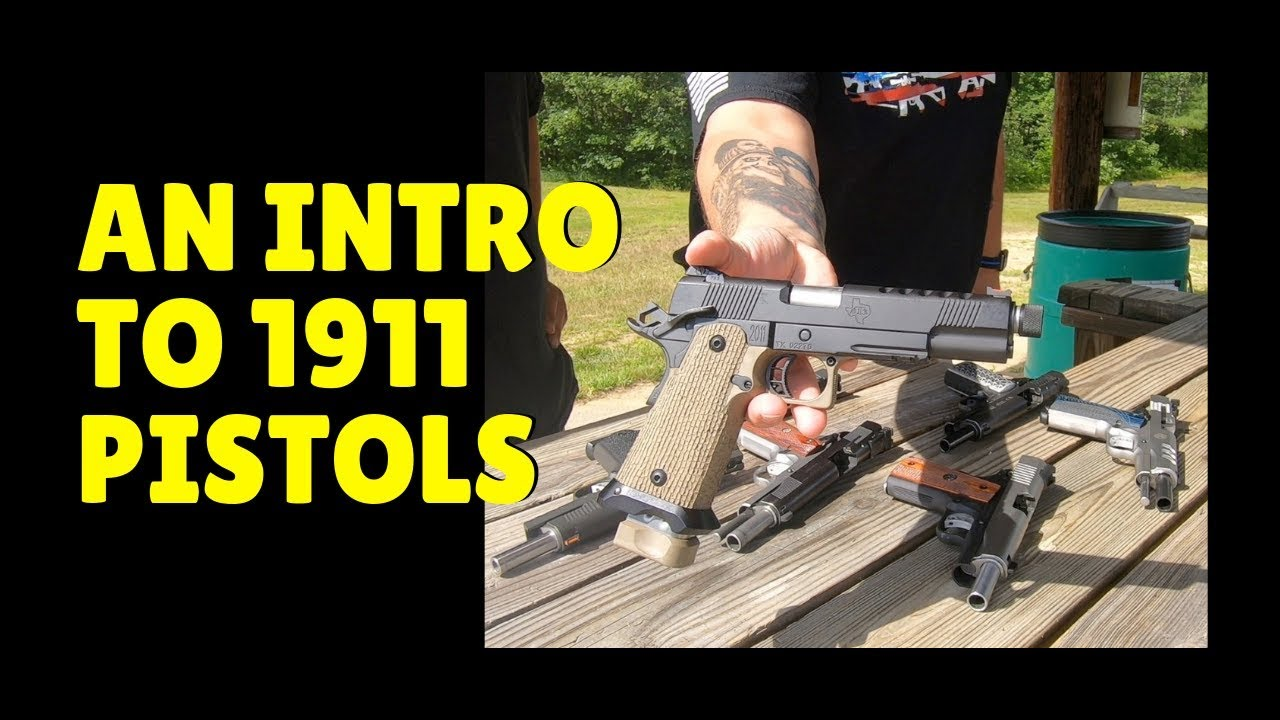 An Intro To 1911 Pistols! What To Look For and What Drives The Cost