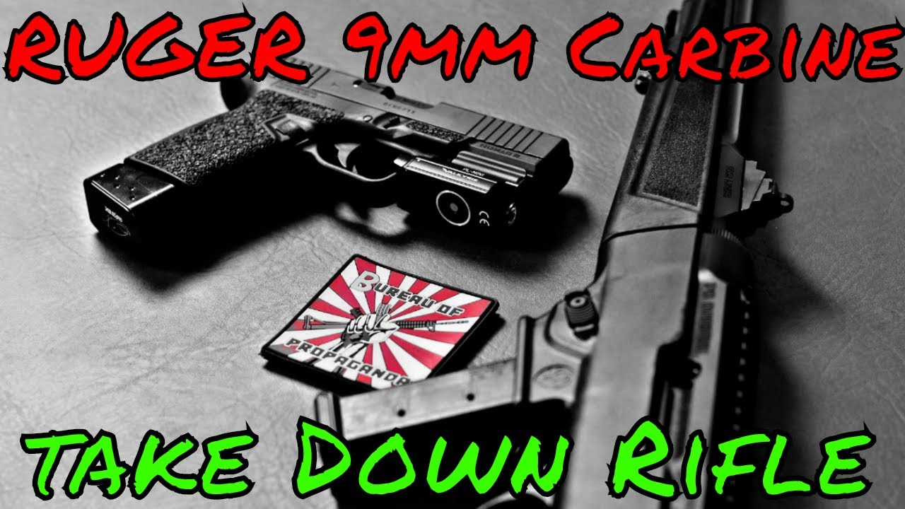 Ruger PC9 Take Down 9mm Rifle Review Worth It?