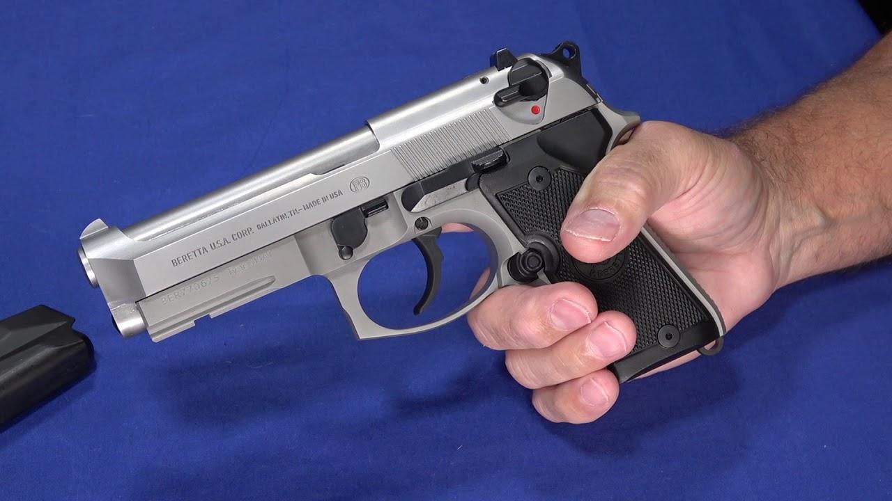 Smaller 92: Beretta 92FS Compact Inox