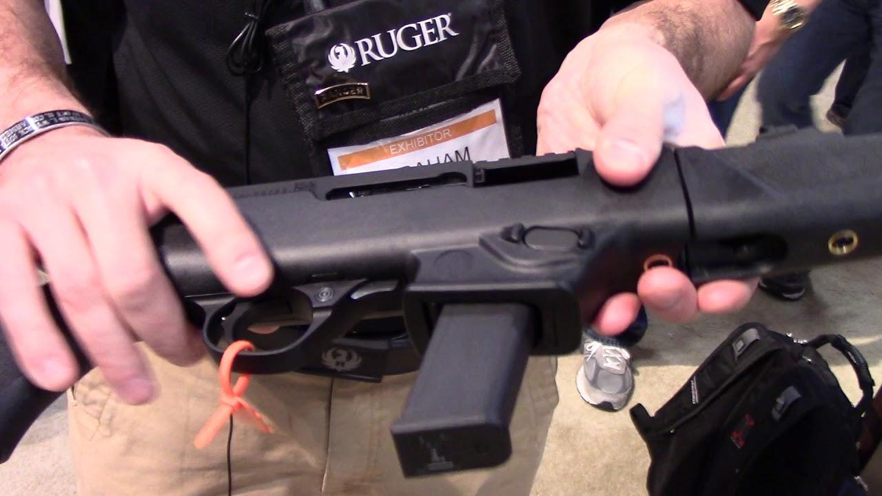 SHOT Show 2018, Ruger  PC Carbine (PCC)