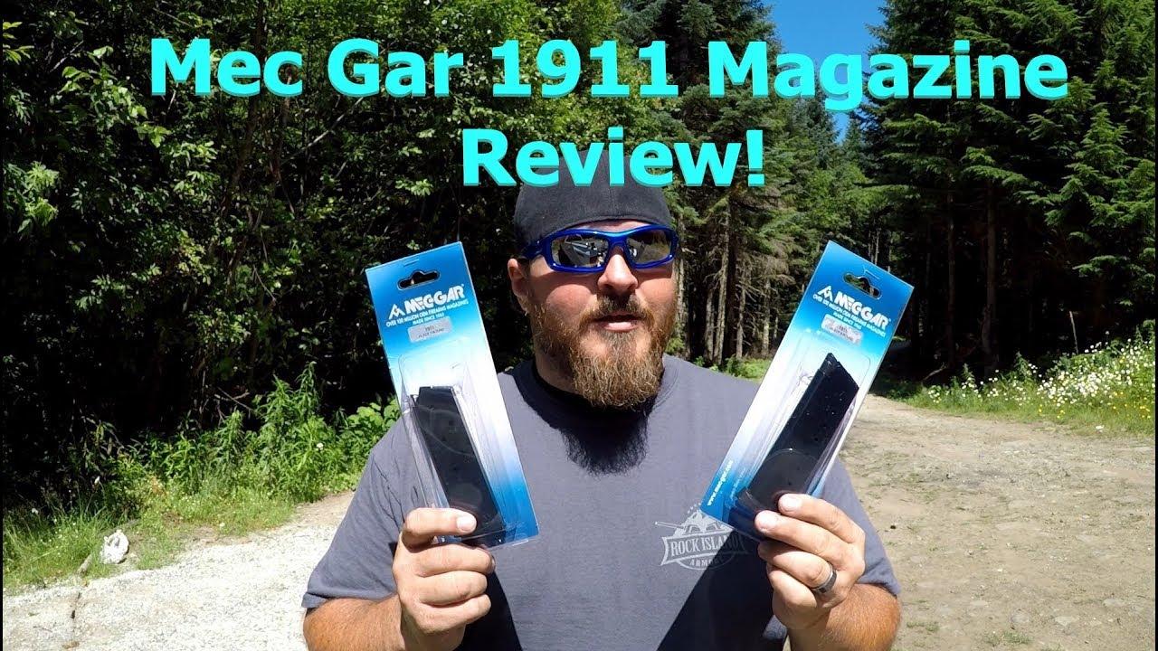 Mec Gar 1911 magazine range review! Let's have some fun!