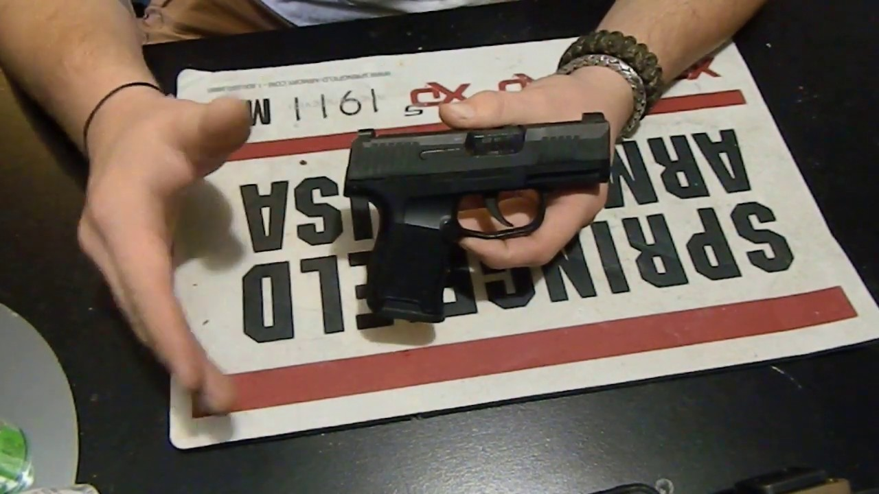 SIG SAUER P365 GEN 2 NOT WHAT I EXPECTED