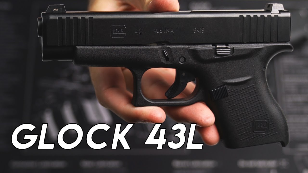 Turning My Glock 43 into a Glock 43L Black