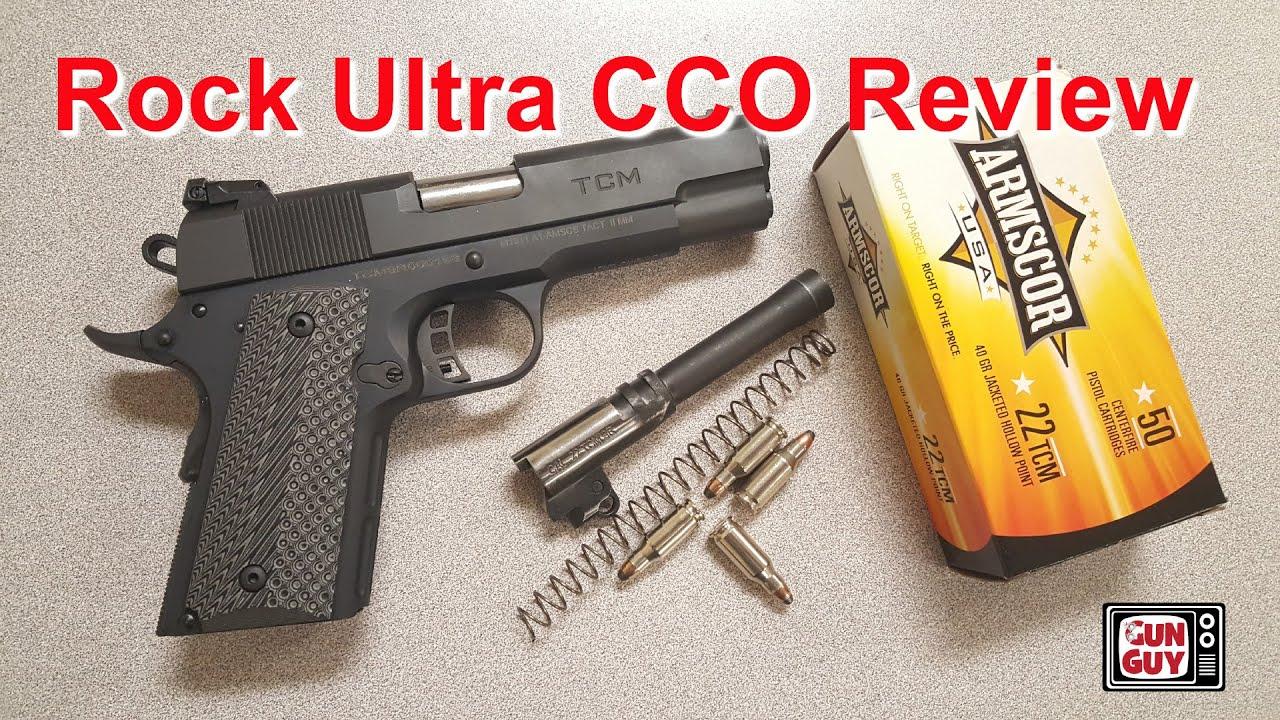 Rock Island 22 TCM Rock Ultra CCO review