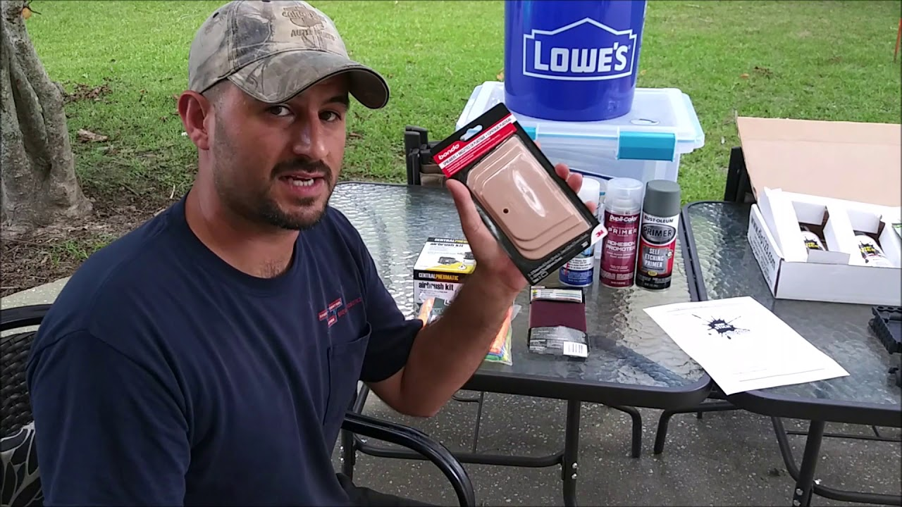 How to hydrodip a firearm (Part 1 of 3)