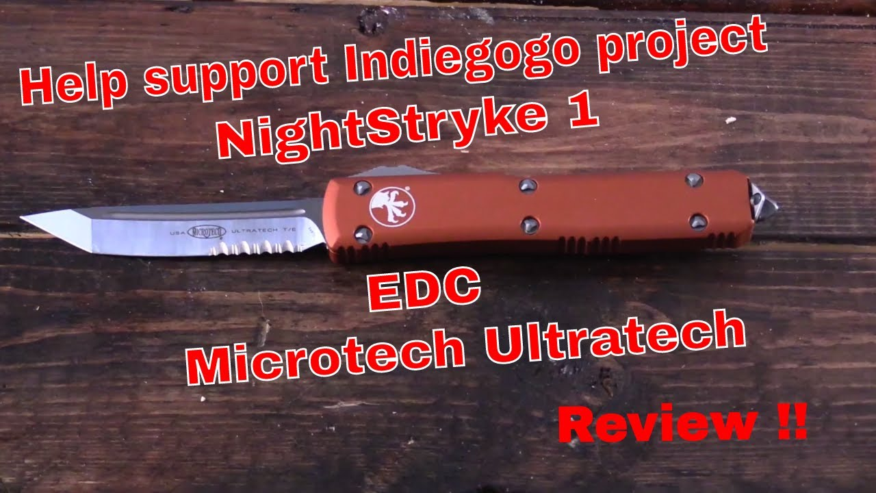 MicroTech OTF UltraTech knife Review