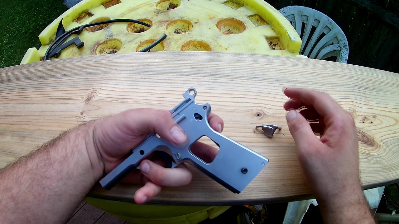 First 1911 Build - Thumb Safety