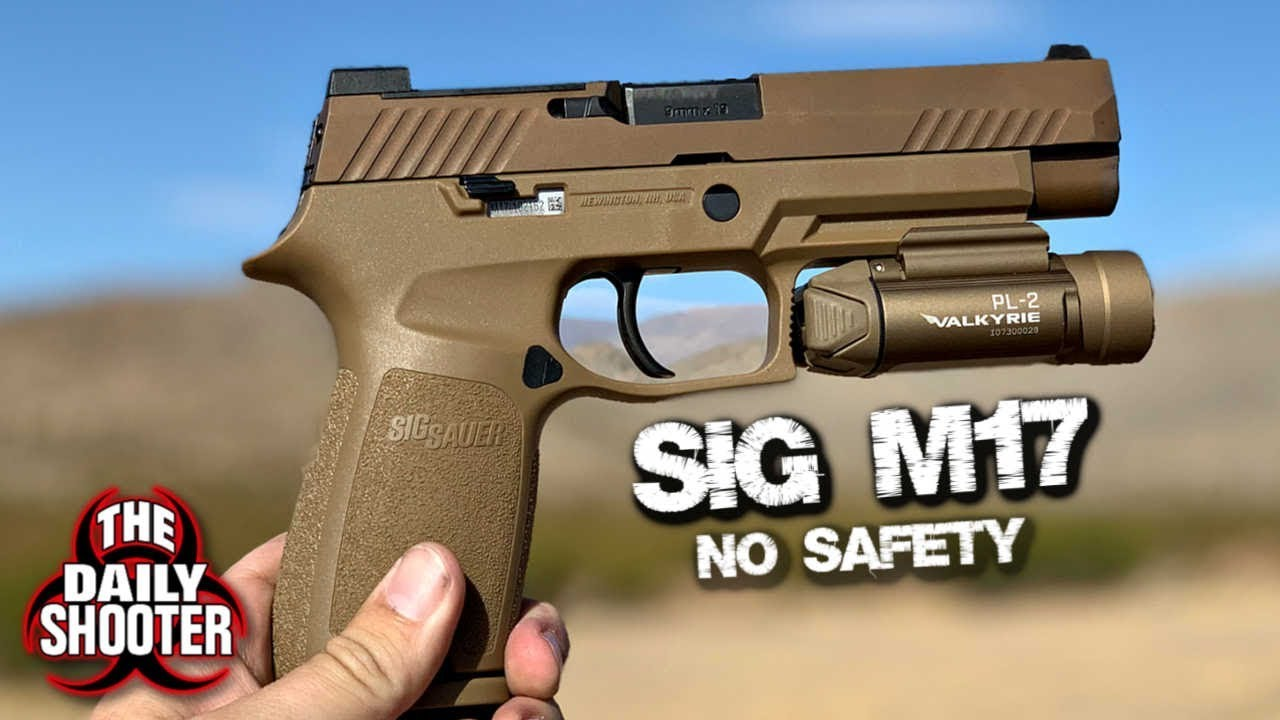 Sig Sauer M17 (No Safety) Review
