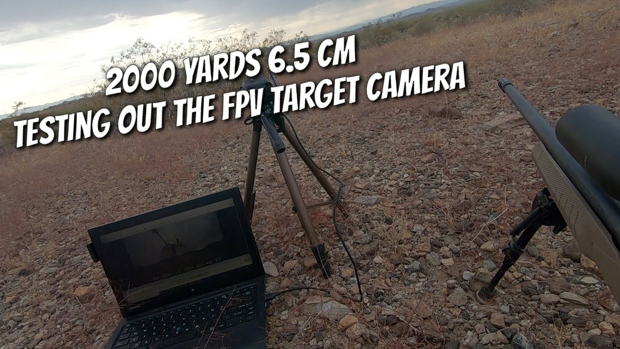 1.13 Miles (2000 yards) 6.5 Creedmoor - DIY Long Range FPV Camera Test