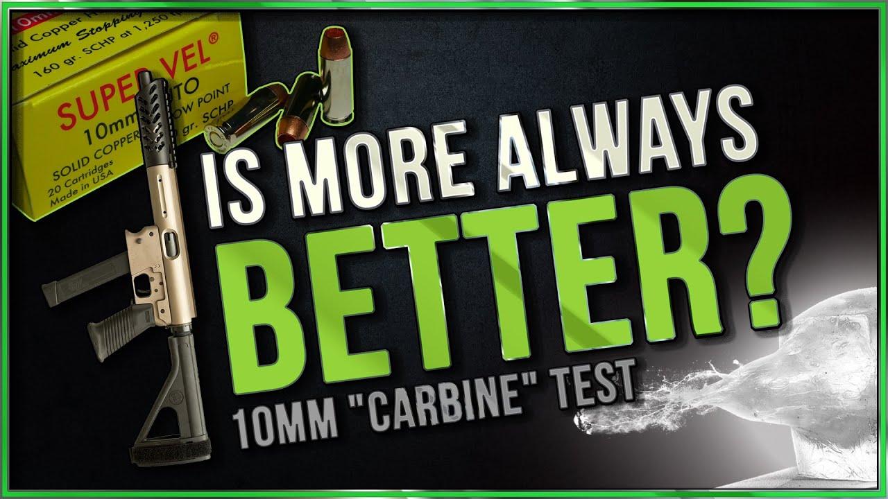 Is More Always Better? 160gr Super Vel SCHP 10.25