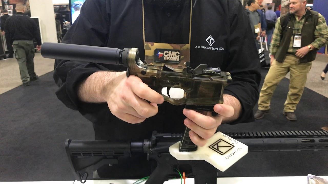 SHOT Show 2018, American Tactical, AR-15/9mm Glock Mag adapter
