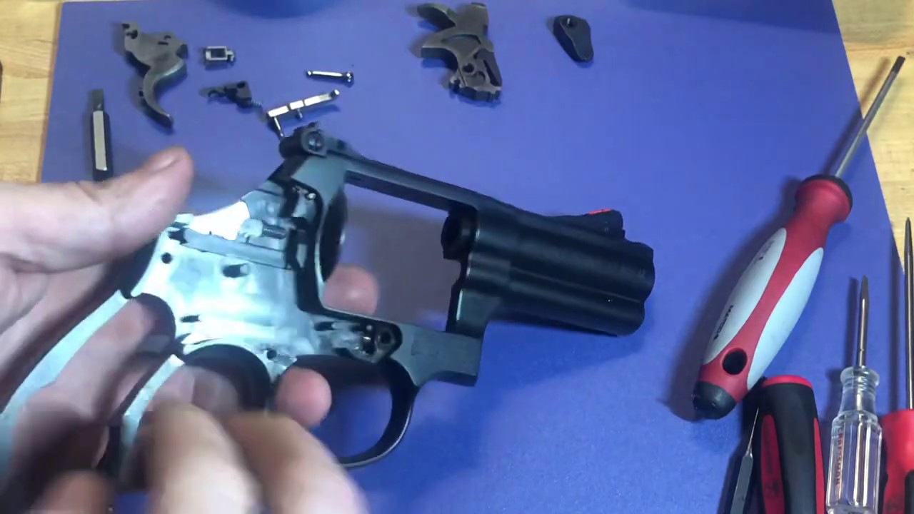 S&W 586 L-Comp Complete Disassembly (S&W Revolver Disassembly)