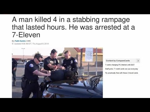 4 Killed in Mass Stabbing.
