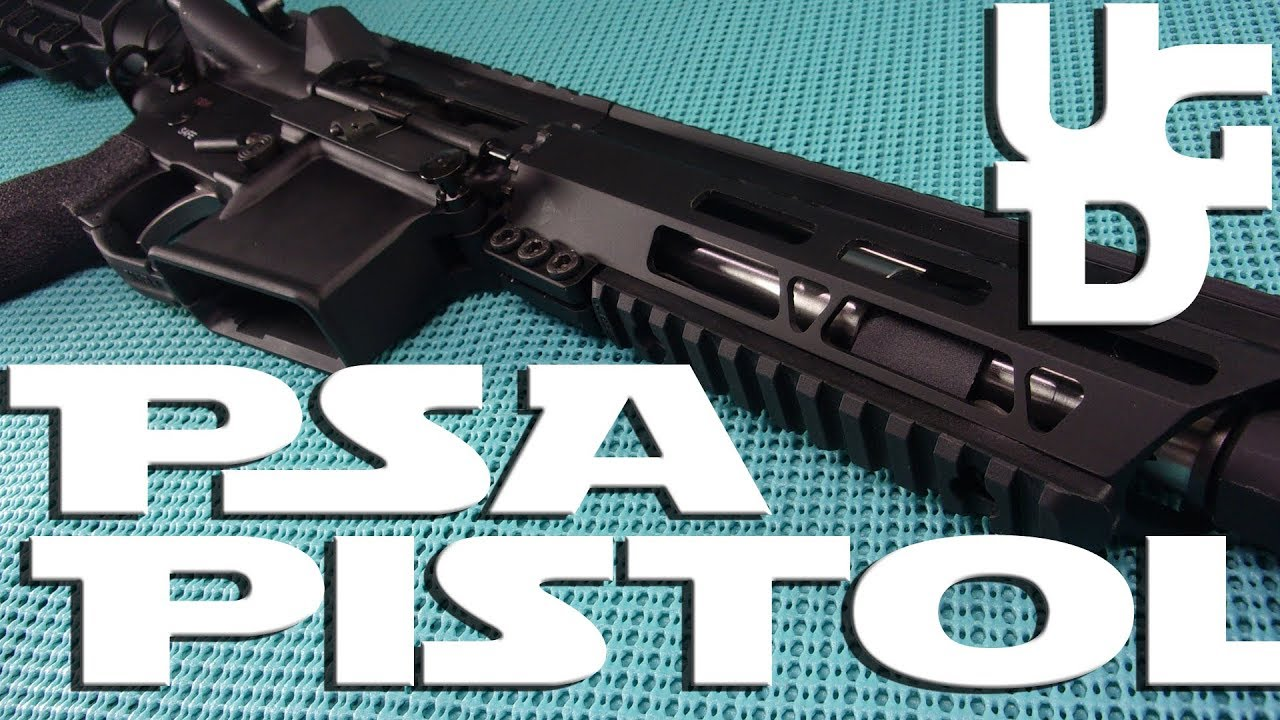 Palmetto State Armory AR Pistol 223 Wylde 1st Look Review, Why