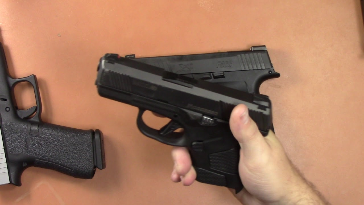 Sig P365 XL-First Impressions and Size Comparisons