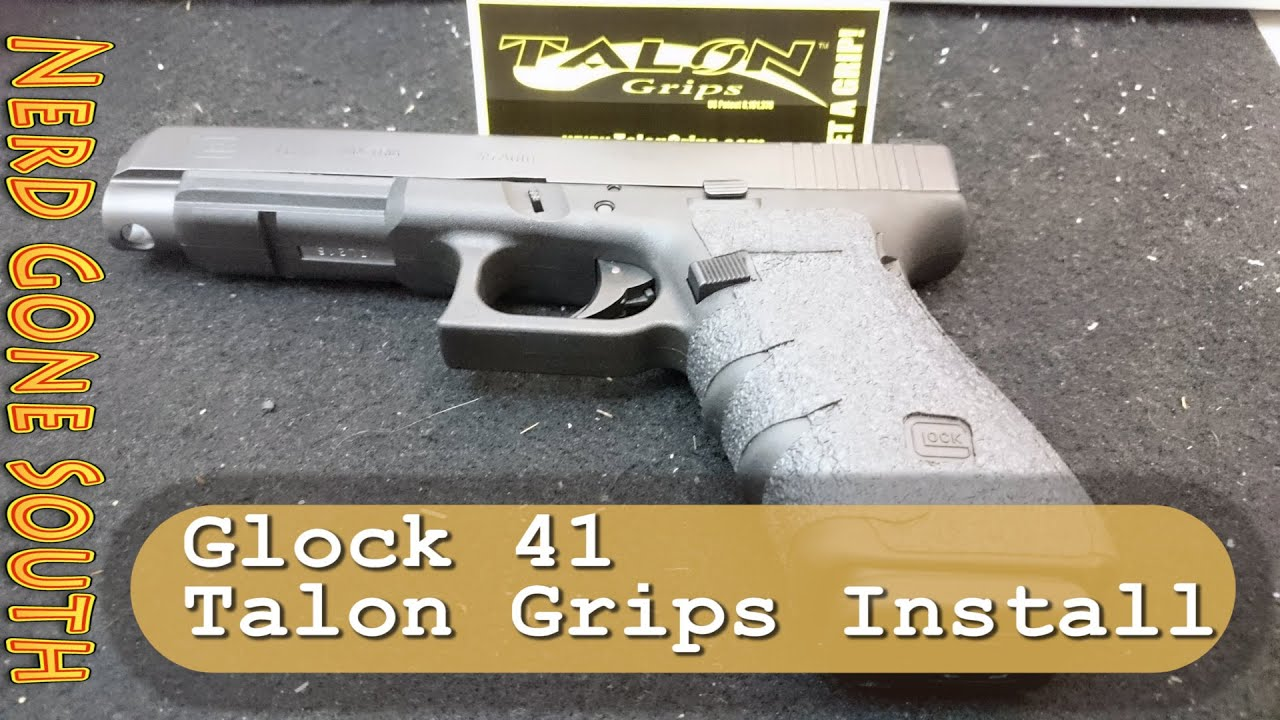 Glock 41 Practical/Tactical 45ACP Pistol Introduction and Talon Grip Installation How To