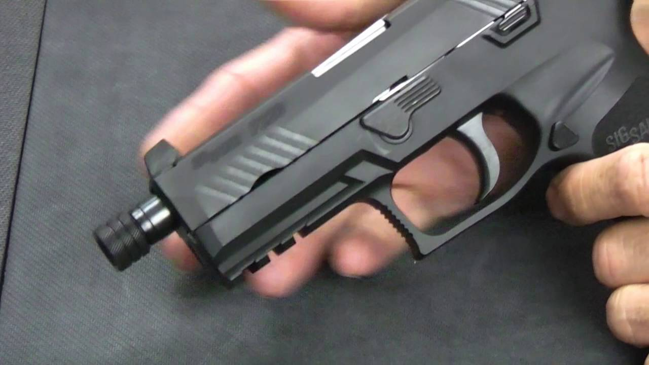 First Look - Sig Sauer P320 TACOPS in 9mm