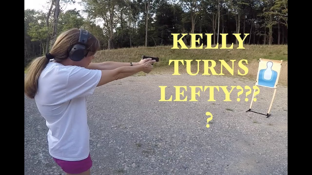 ARMED and Feminine - Tips for Lefties