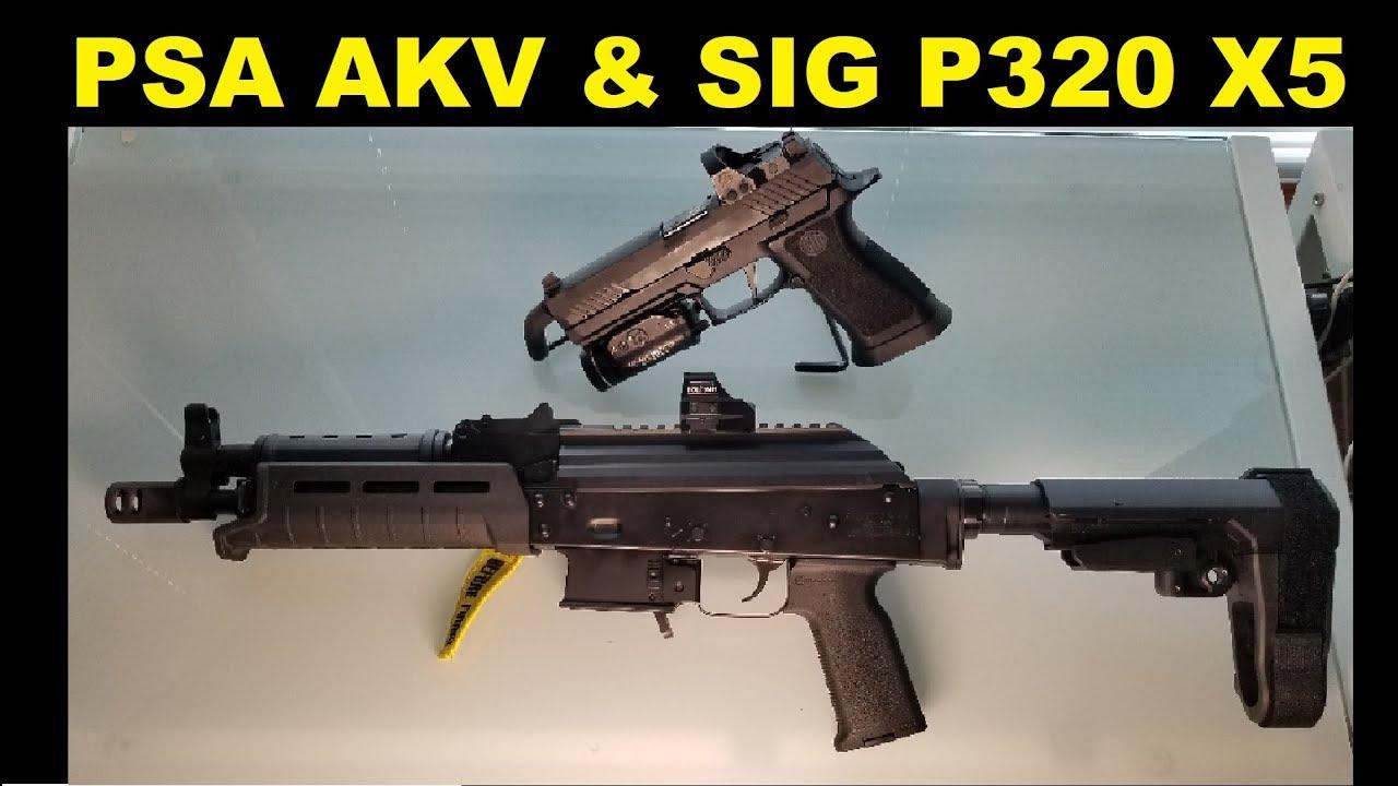 PSA AKV & Sig P320 - 2GUN MATCH