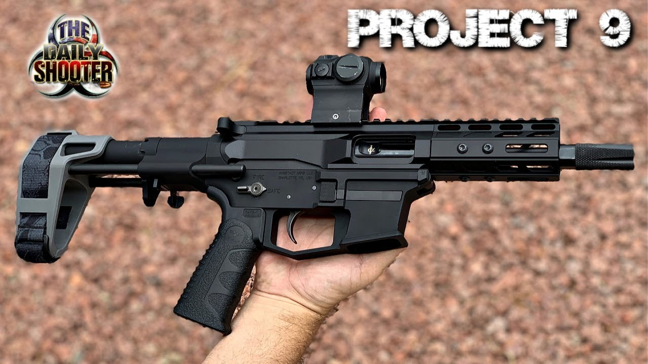 Project 9 Part 2.  Angstadt Arms, SBPDW & Xtech Tactical
