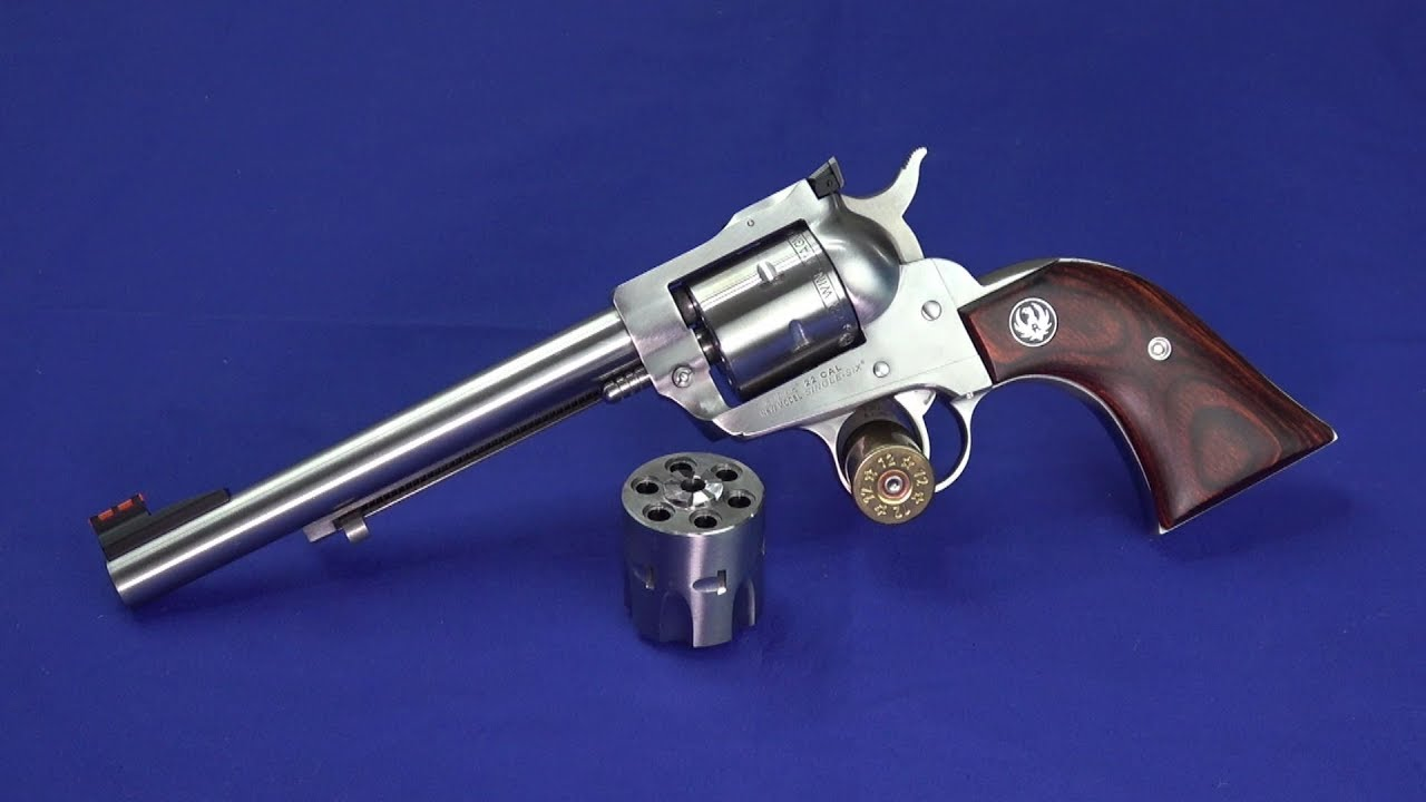 The Cool Ruger Single Six 22mag / 22lr Convertible 6.5