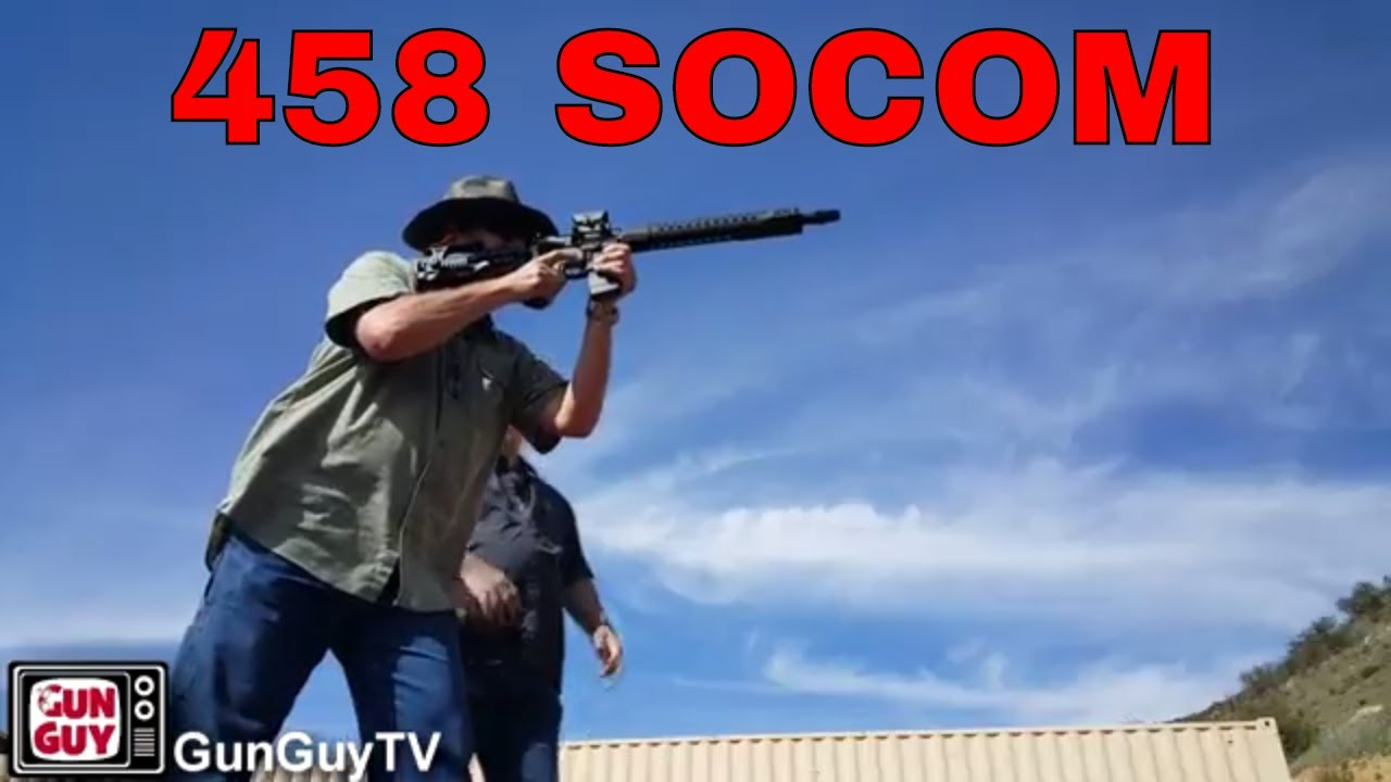 Trying Out Pete's 458 SOCOM & Other Toys