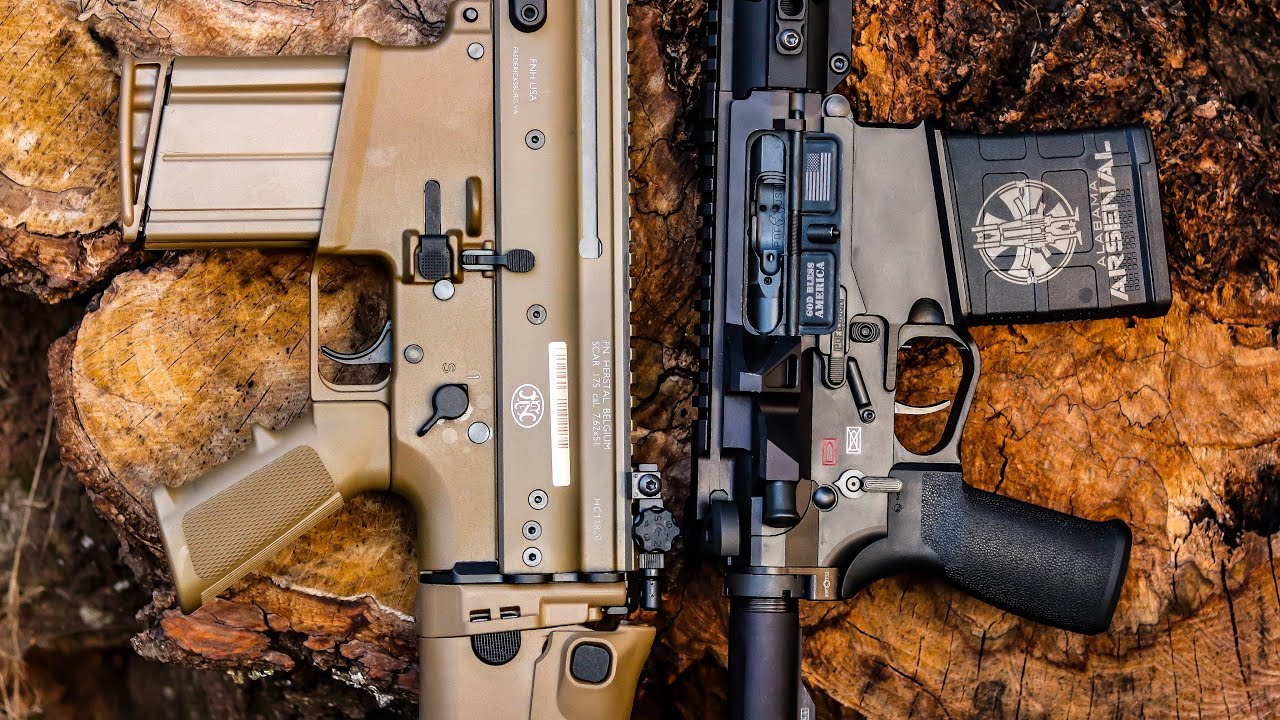 FN SCAR VS POF Revolution: The Battle of the Battle Rifles