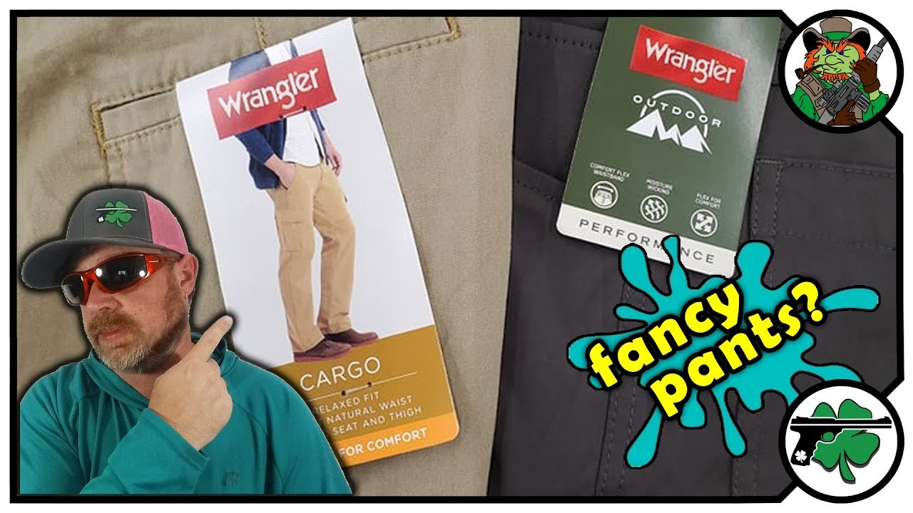 Which Pants Are Better? Wrangler Outdoor Performance VS Wrangler Flex Cargo