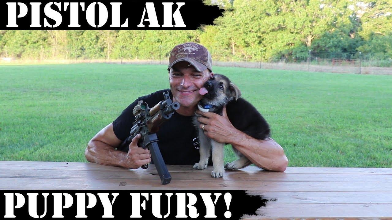 Pistol AK - Puppy Fury! AKV - 4,000 Rds Later!