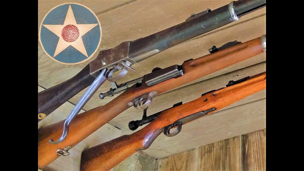Shooting Some Of History's Rifles Vol 1
