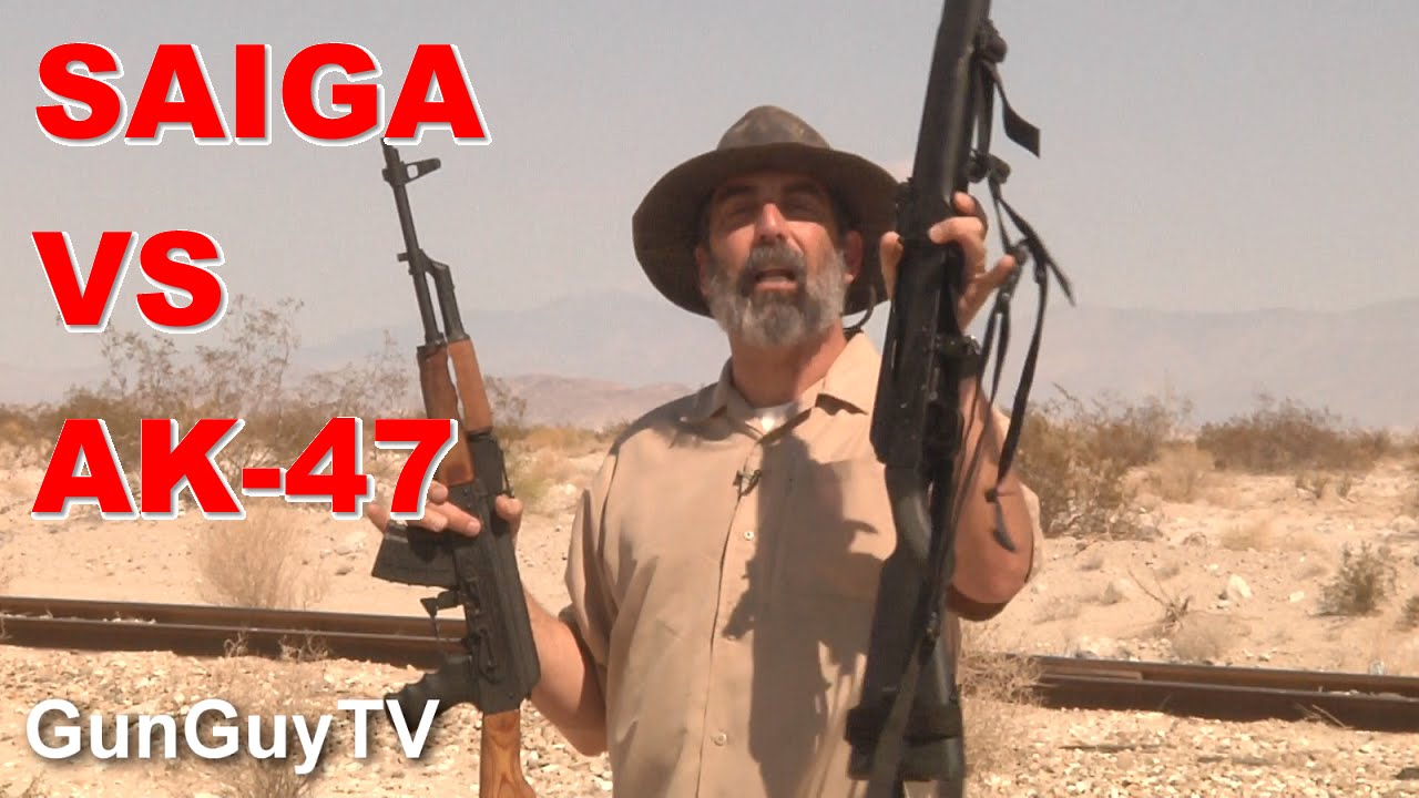 Saiga 7.62x39 rifle vs Wasr AK-47