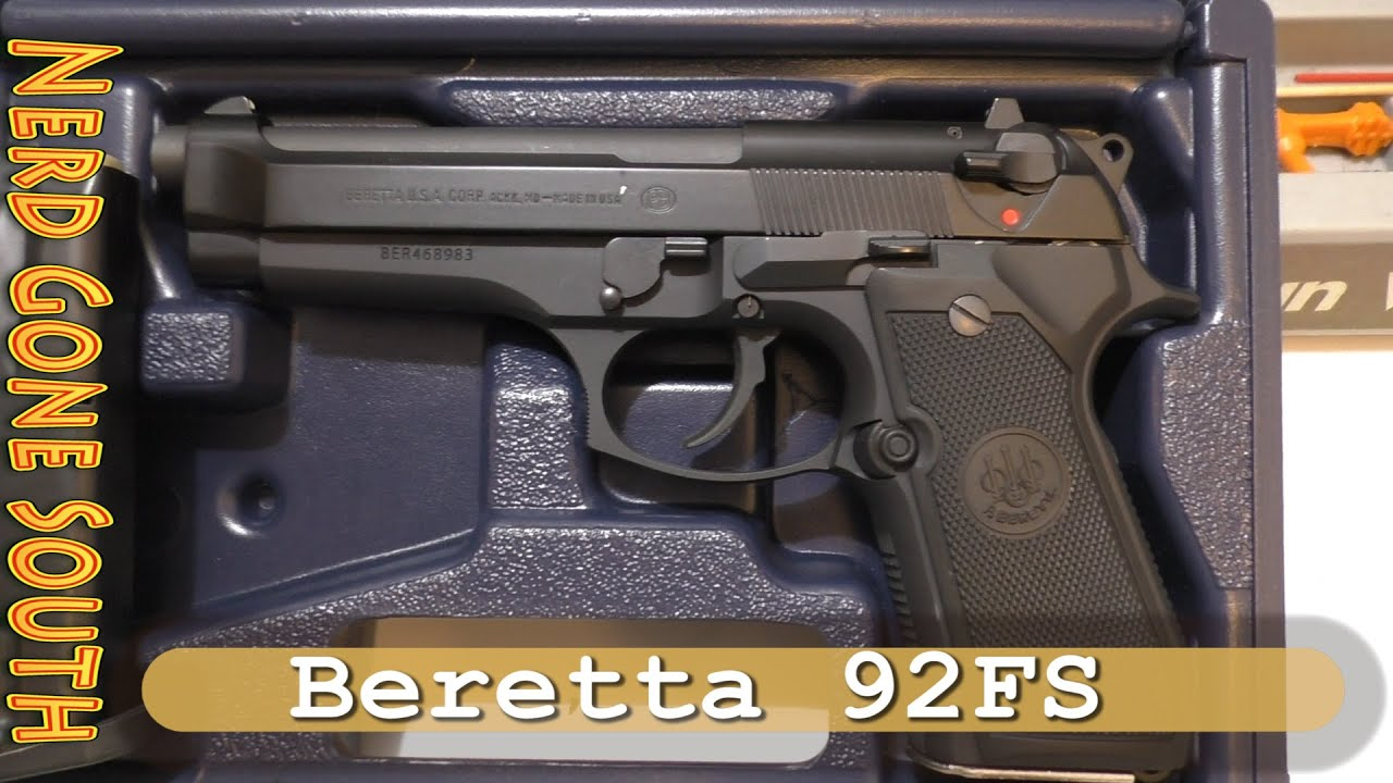 Shooting and reviewing the Beretta 92FS 9MM