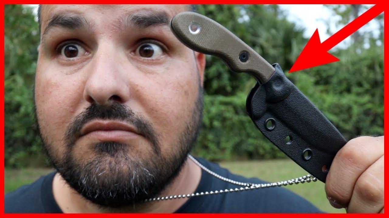 Why I Like Neck Knives!