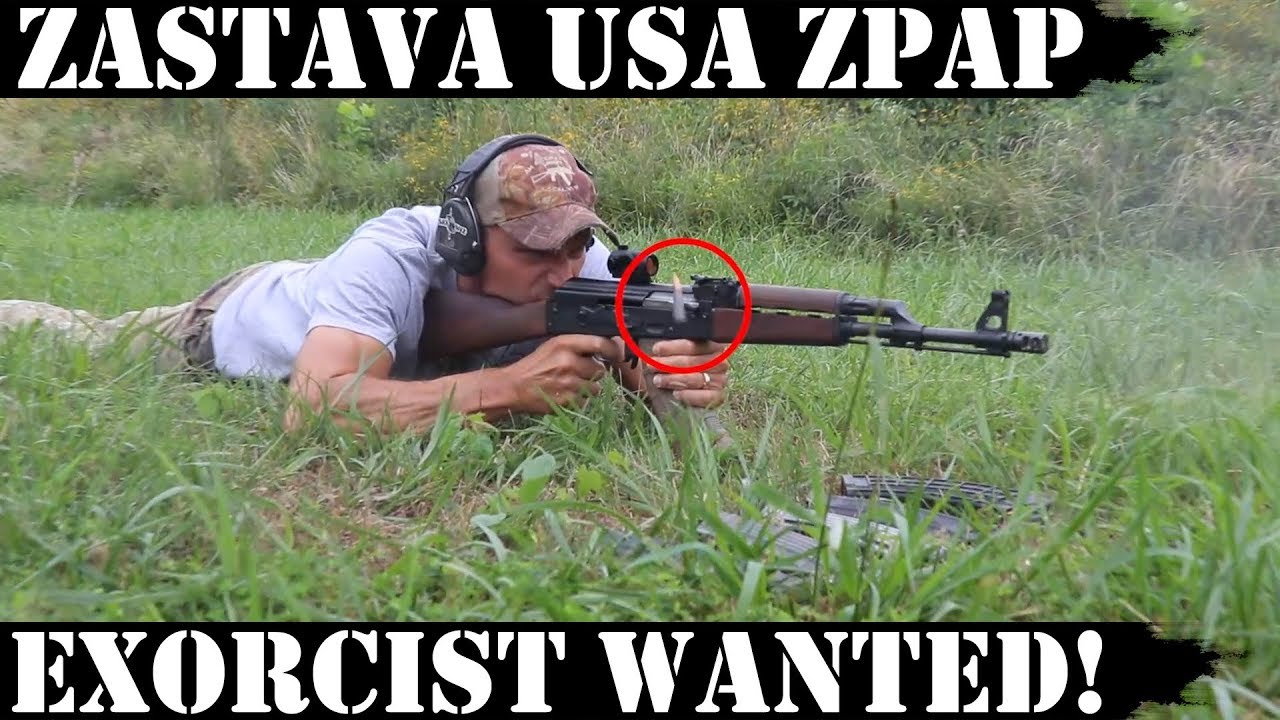 Zastava USA ZPAP AK: Exorcist Wanted!