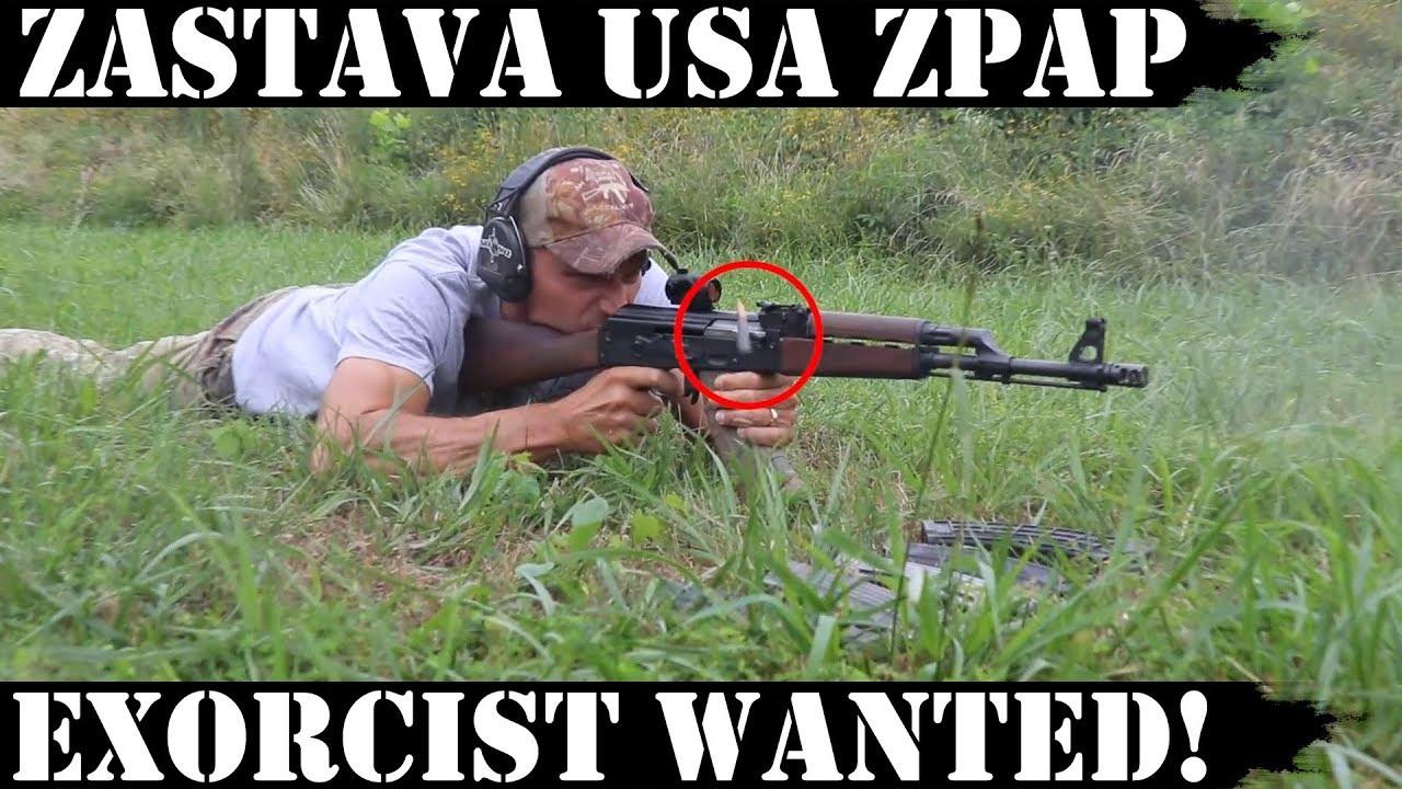 Zastava USA ZPAP AK: Exorcist Wanted!