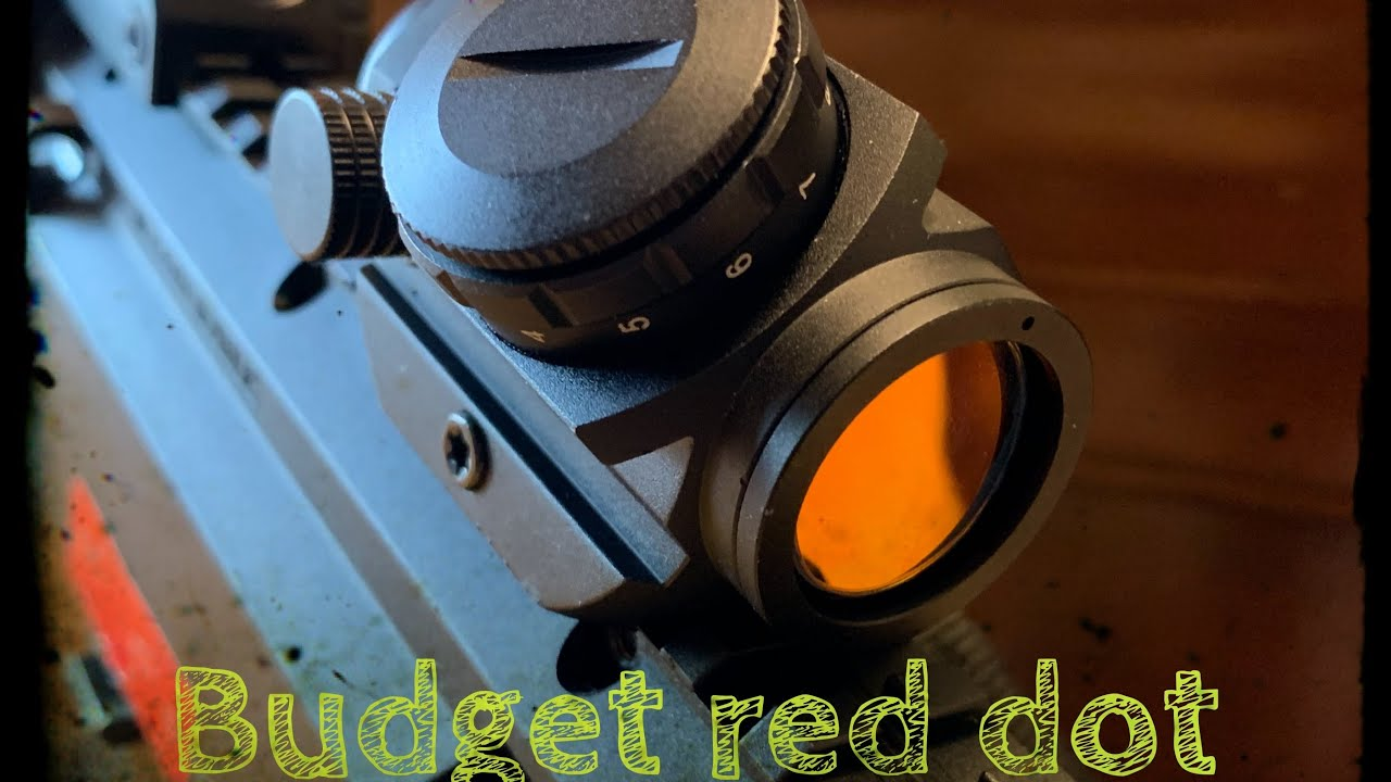 Budget Red Dot optic!