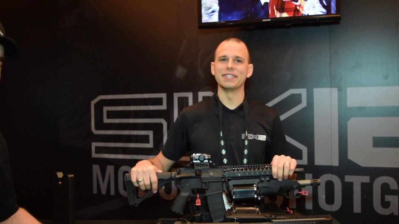 SIX12 Modular 12 Gauge Revolver Shotgun