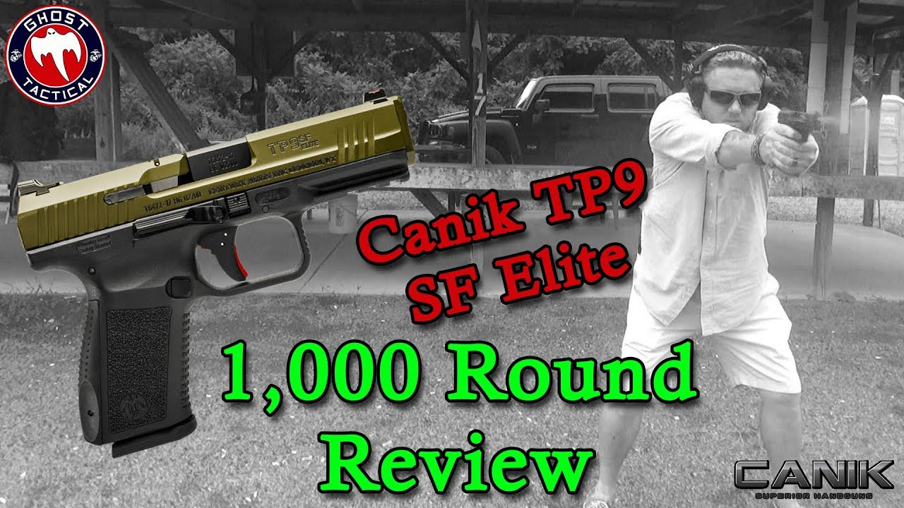 Canik TP9SF Elite:  1,000 Round Review & Update