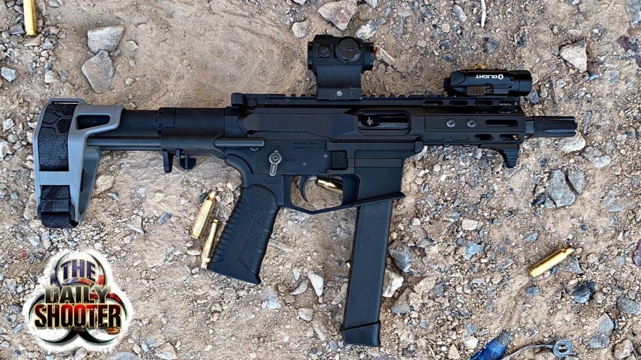 Ultimate 9mm AR Pistol Review Project 9