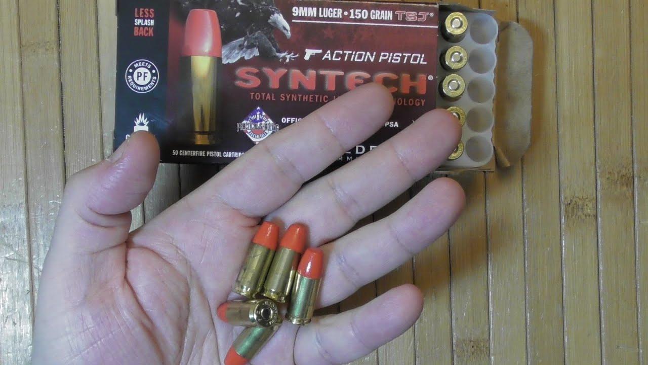 Введение в патроны с полимерным покрытием пули от Федерал Syntech