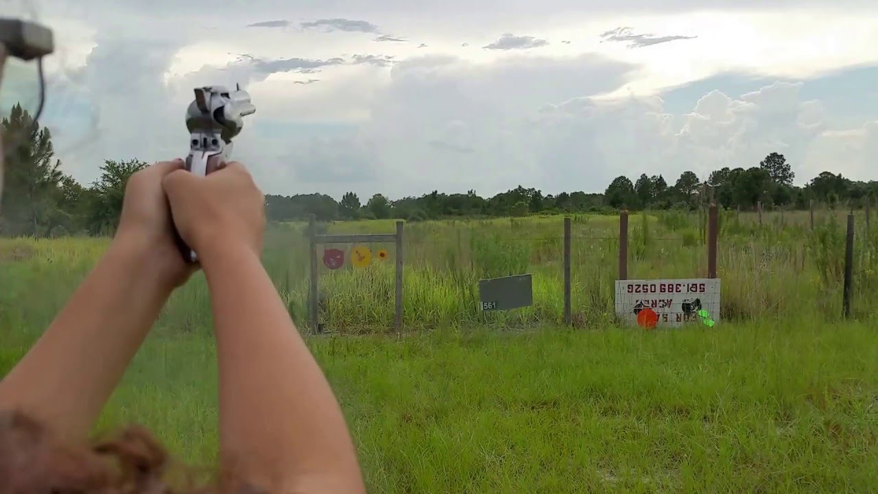 Ruger Vaquero - Girl Shooting