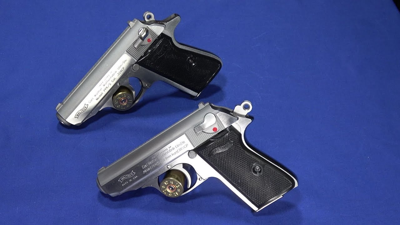 Old Walther PPK/S Review & Compare 32 ACP & 380 ACP
