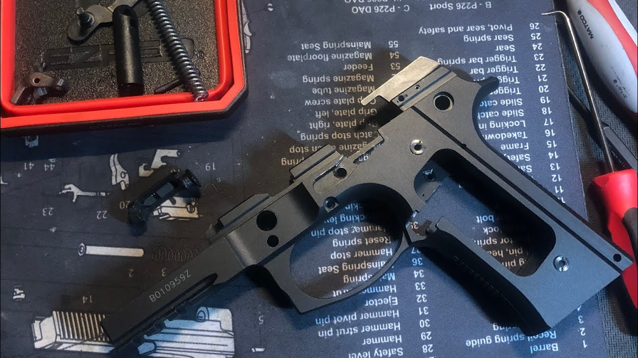 Beretta M9A3 Takedown and Reassembly