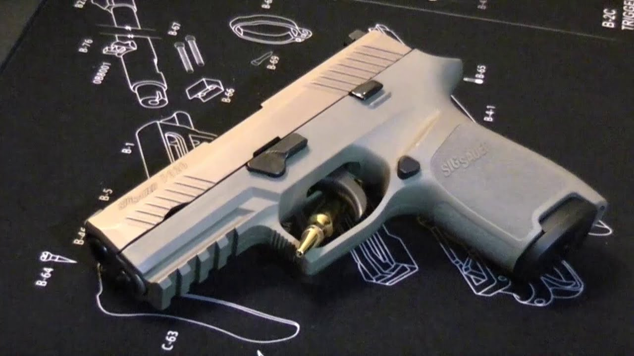 Sig Sauer P320 in 9mm