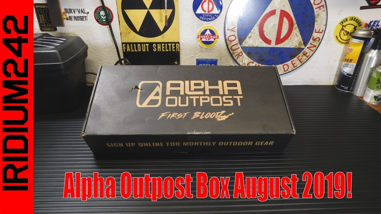 Alpha Outpost Box August 2019!