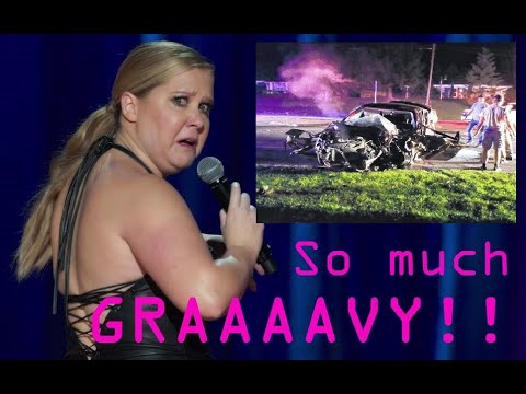 Amy Schumer DEAD In Hi-Speed Crash w/ Gravy Tanker Truck! Except that didn't happen. .45-70 gel test