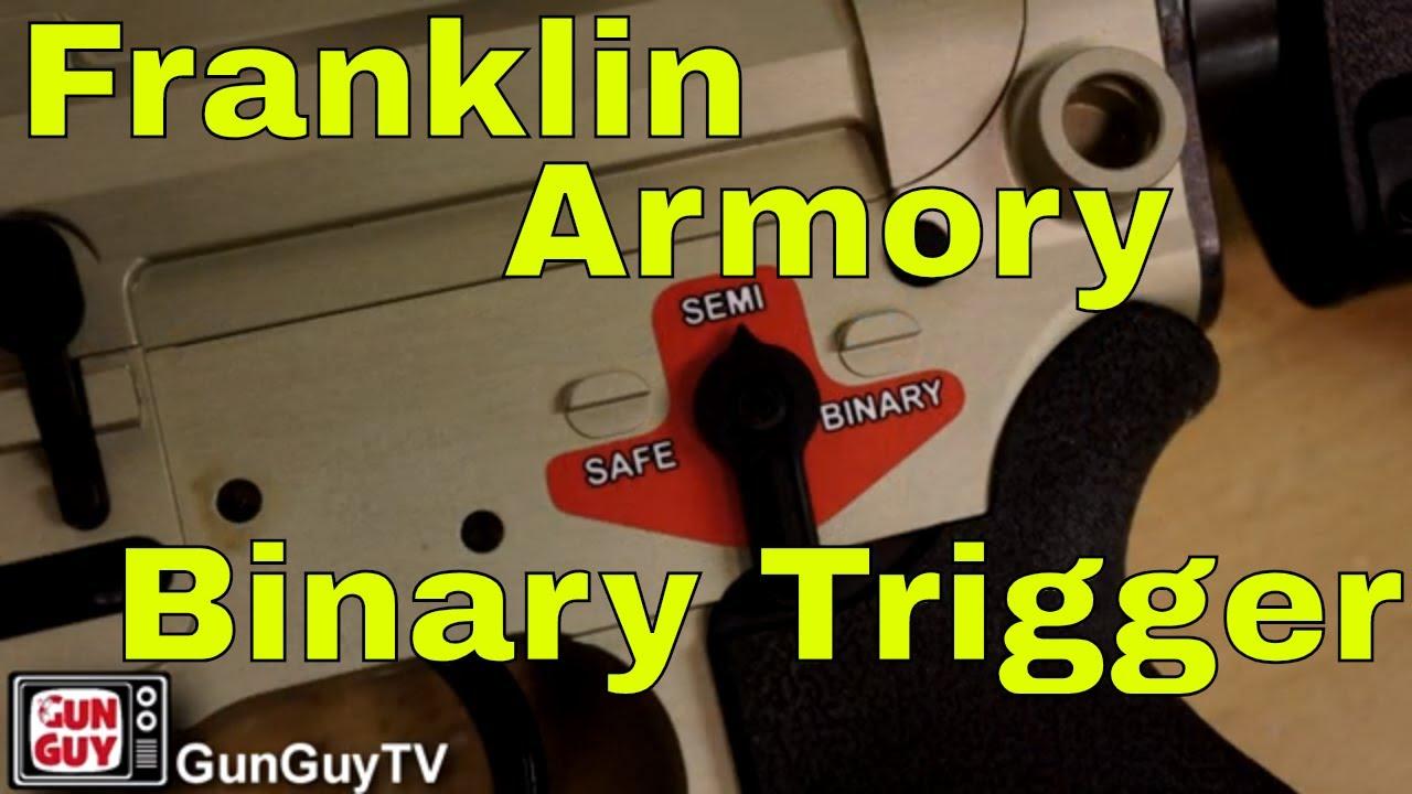 Franklin Armory Binary Trigger Rifle