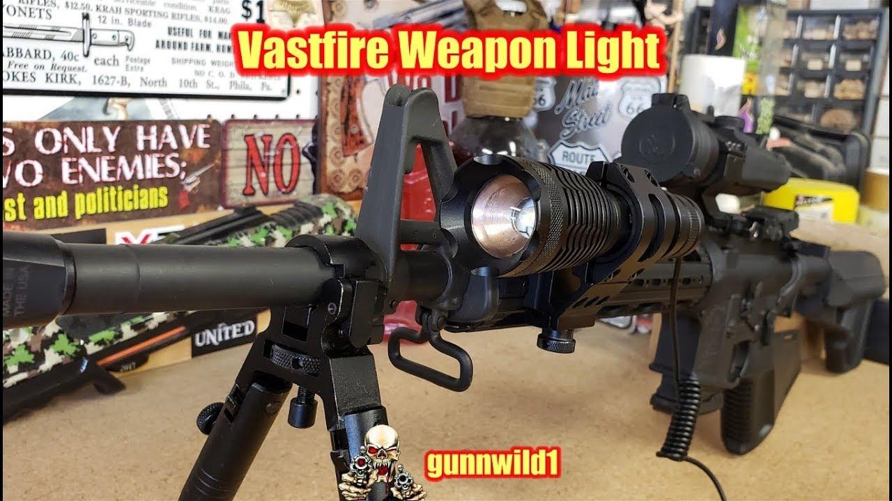 Vastfire weapon light