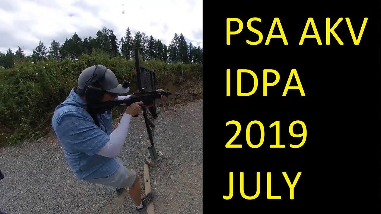PSA AKV - PCC - IDPA - PB 2019 JULY