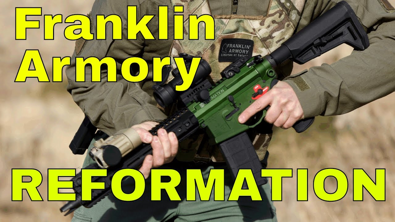 Checking out the Franklin Armory REFORMATION at 2018 SHOT Show